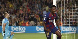 Sanjungan dan kiat untuk Ansu Fati, Wonderkid of Barcelona 2