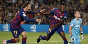 Sanjungan dan kiat untuk Ansu Fati, Wonderkid of Barcelona 3