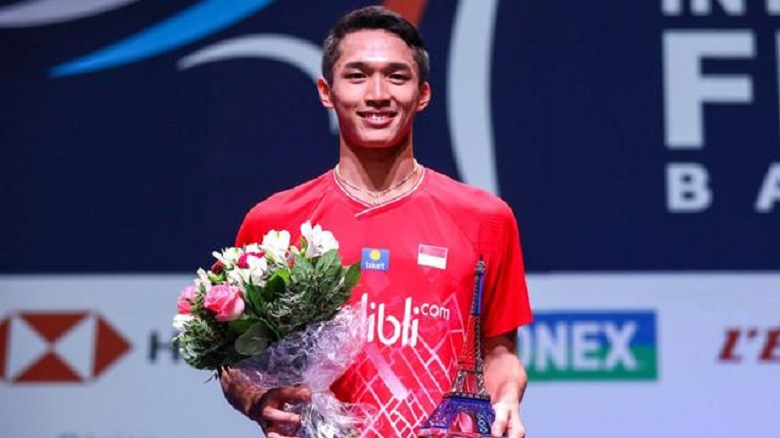Photo of Dramatis, Jonatan Christie ke Final French Open 2019