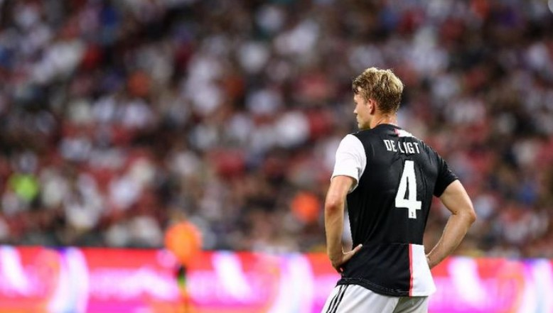 Bek Juventus Matthijs de Ligt.
