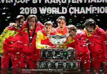 Spanyol Juara Davis 2019 Bersama Nadal