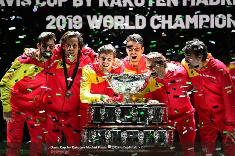 Photo of Spanyol Juara Davis 2019 Bersama Nadal