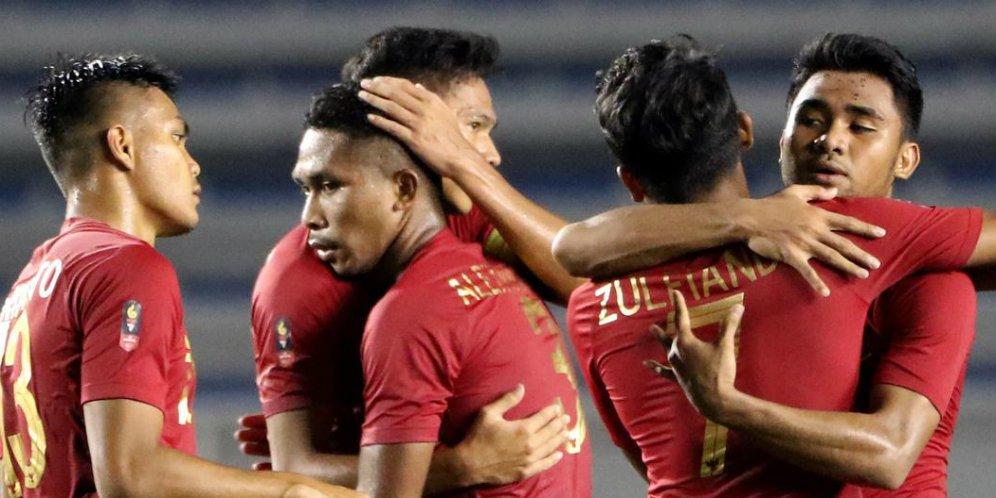 Timnas Indonesia U-22 Menang Telak 4-0