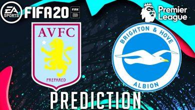 Photo of Prediksi Akurat Aston Villa vs Brighton 21 November 2020