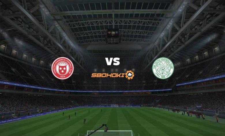 Live Streaming  Hamilton Academical vs Celtic 26 Desember 2020 1