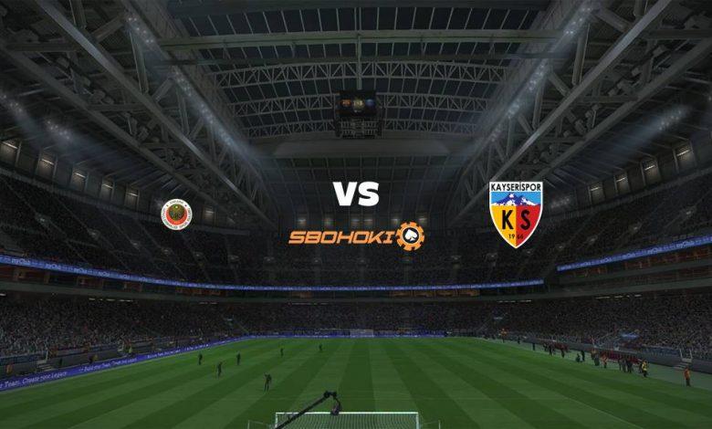 Live Streaming  Genclerbirligi vs Kayserispor 28 Desember 2020 1
