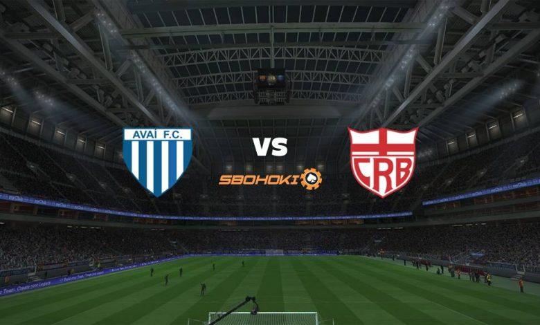 Live Streaming  Avaí vs CRB 29 Desember 2020 1