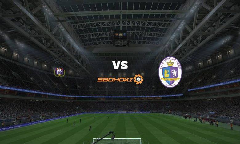 Live Streaming  Anderlecht vs KFCO Beerschot-Wilrijk 27 Desember 2020 1