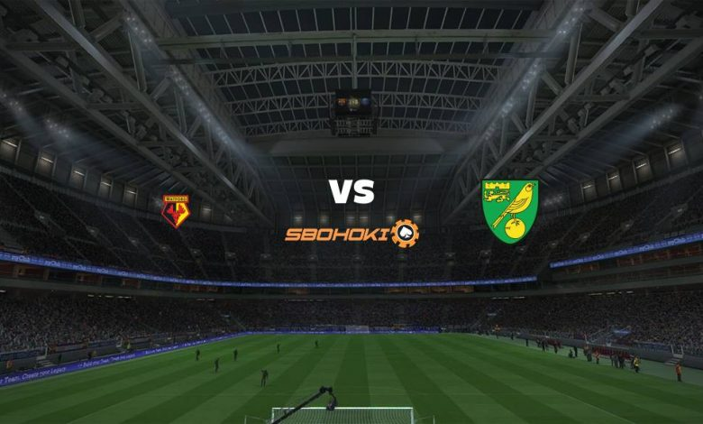 Live Streaming  Watford vs Norwich City 26 Desember 2020 1
