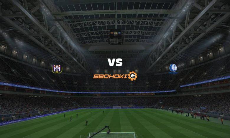 Live Streaming  Anderlecht vs KAA Gent 31 Januari 2021 1