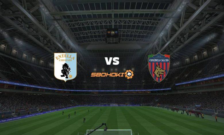 Live Streaming  Virtus Entella vs Cosenza 30 Januari 2021 1