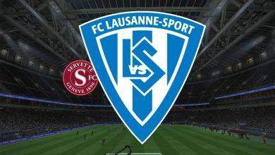 Photo of Live Streaming  Servette vs Lausanne Sports 31 Januari 2021
