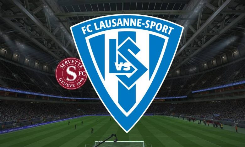 Live Streaming  Servette vs Lausanne Sports 31 Januari 2021 1