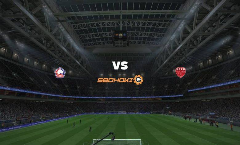 Live Streaming  Lille vs Dijon 31 Januari 2021 1