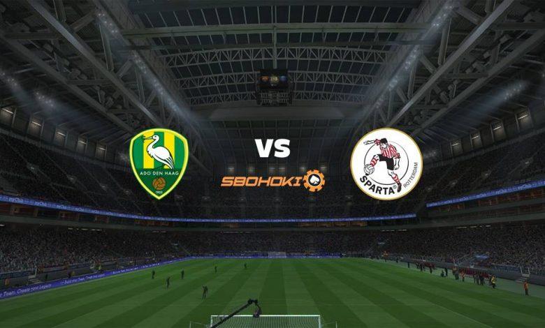 Live Streaming  ADO Den Haag vs Sparta Rotterdam 31 Januari 2021 1