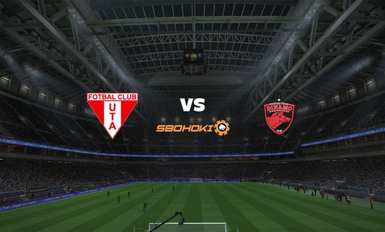 Live Streaming  UTA Arad vs Dinamo Bucuresti 31 Januari 2021 1