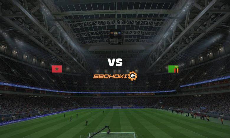 Live Streaming  Morocco vs Zambia 31 Januari 2021 1