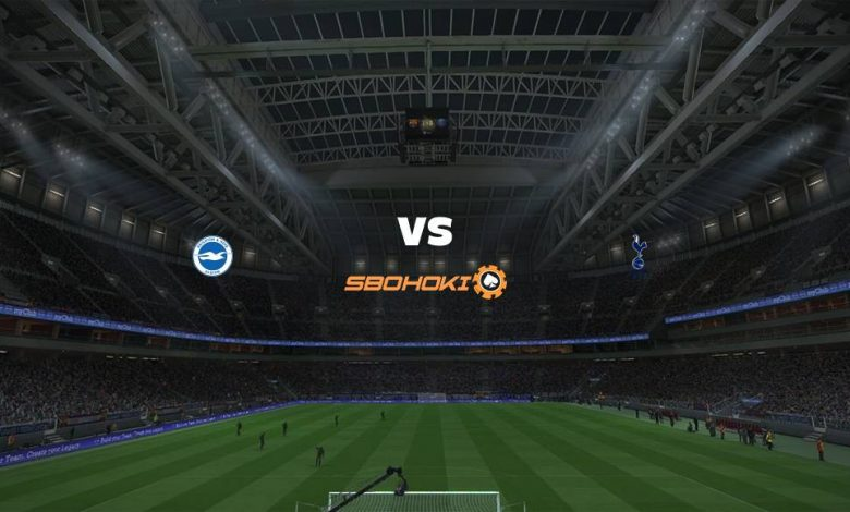 Live Streaming  Brighton and Hove Albion vs Tottenham Hotspur 31 Januari 2021 1