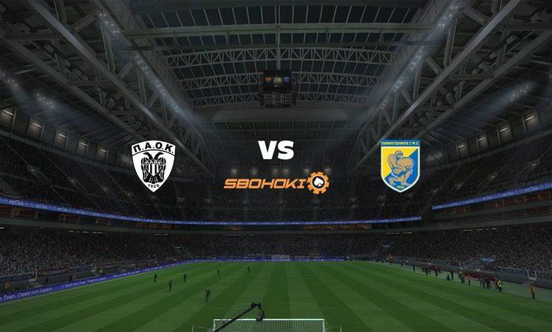 Live Streaming  PAOK Salonika vs Panetolikos 31 Januari 2021 1