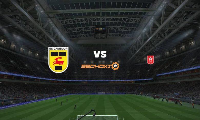 Live Streaming  SC Cambuur vs MVV Maastricht 31 Januari 2021 1