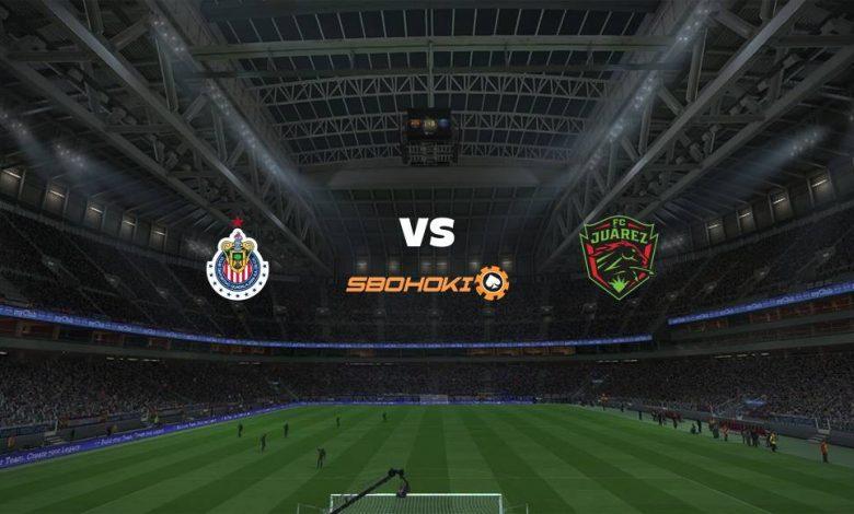 Live Streaming  Chivas Guadalajara vs FC Juarez 31 Januari 2021 1
