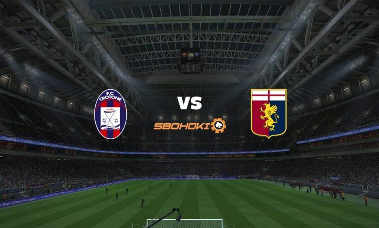 Live Streaming  Crotone vs Genoa 31 Januari 2021 1