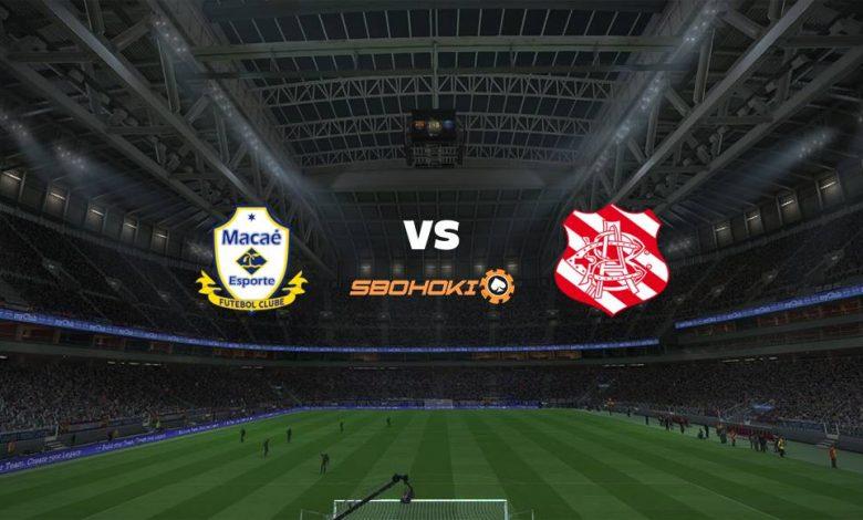 Live Streaming  Macaé vs Bangu 27 Februari 2021 1
