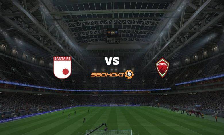 Live Streaming  Independiente Santa Fe vs Patriotas 4 Februari 2021 1