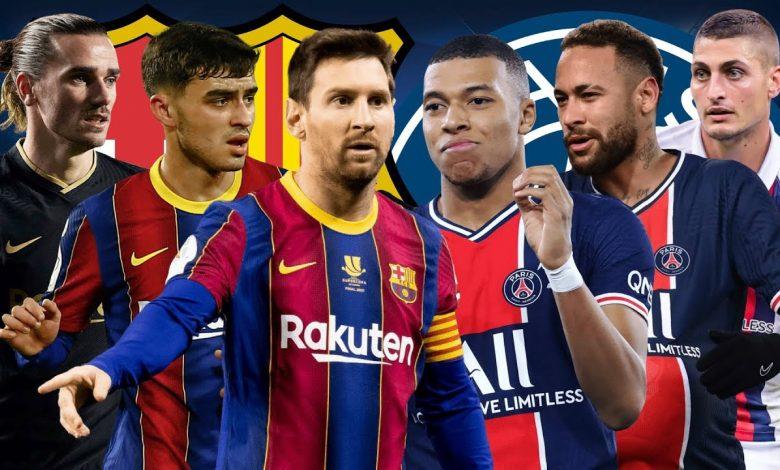 Barcelona VS PSG Tanpa Kekuatan Penuh 1