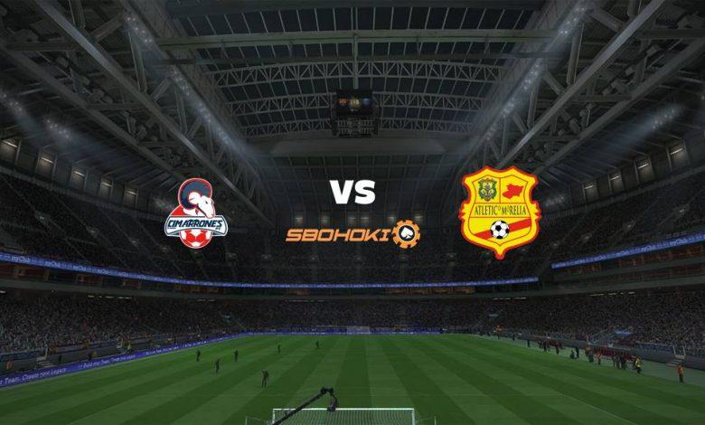 Live Streaming  Cimarrones de Sonora vs Atlético Morelia 11 Februari 2021 1