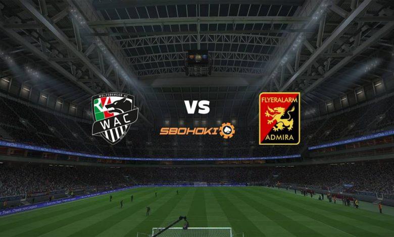 Live Streaming  Wolfsberger vs FC Admira Wacker Modling 13 Februari 2021 1