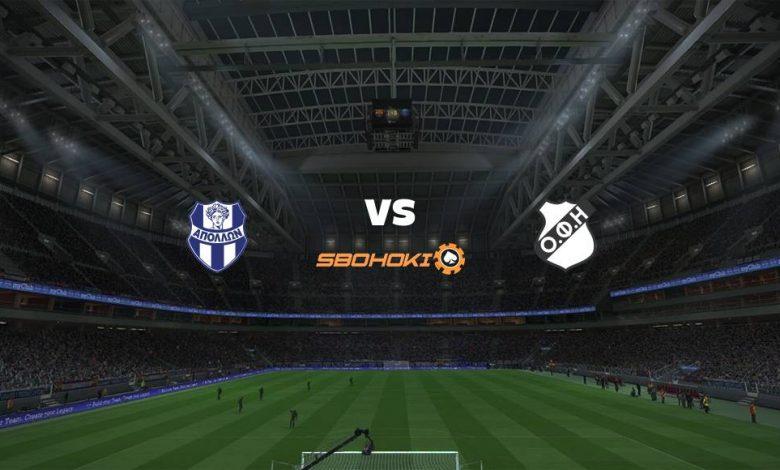 Live Streaming  Apollon Smyrni vs OFI Crete 27 Februari 2021 1