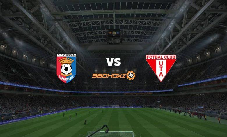 Live Streaming  Chindia Targoviste vs UTA Arad 13 Februari 2021 1