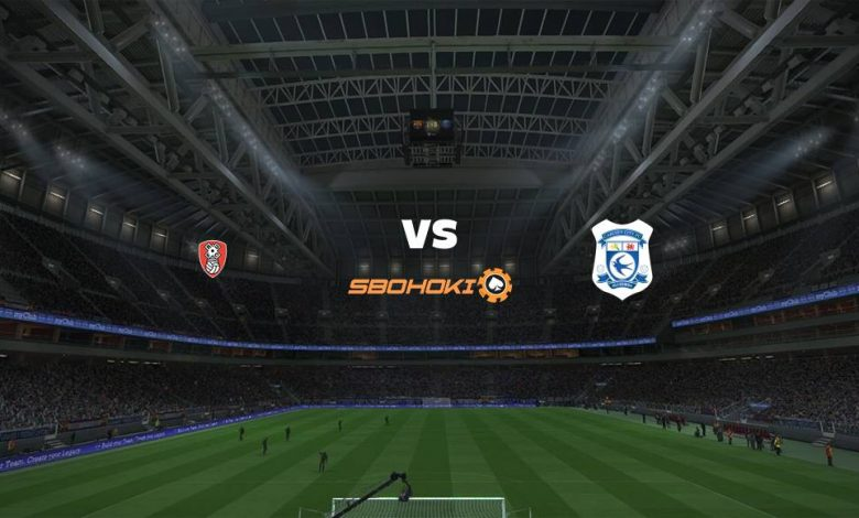Live Streaming  Rotherham United vs Cardiff City 9 Februari 2021 1