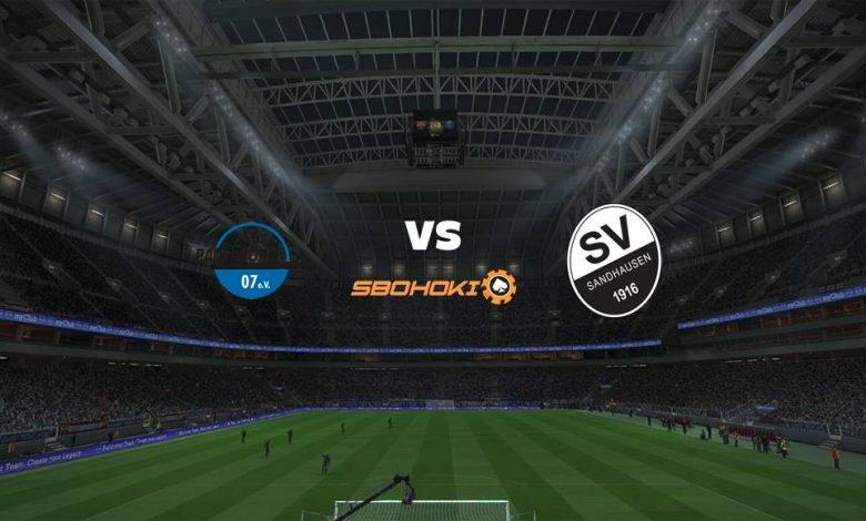 Live Streaming  SC Paderborn 07 vs SV Sandhausen 20 Februari 2021 1