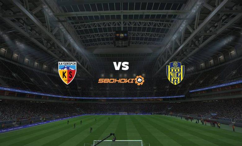 Live Streaming  Kayserispor vs Ankaragucu 13 Februari 2021 1