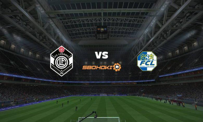 Live Streaming  FC Lugano vs FC Luzern 21 Februari 2021 1