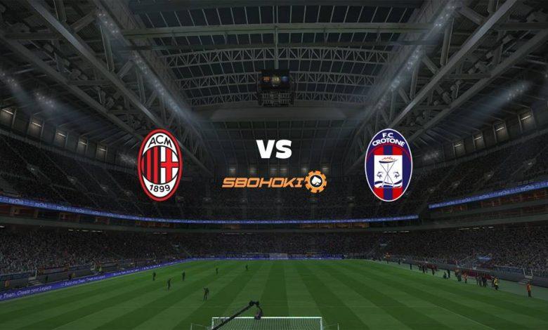 Live Streaming  Milan vs Crotone 7 Februari 2021 1