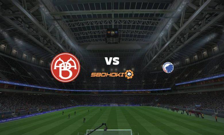 Live Streaming  AaB vs FC Copenhagen 3 Februari 2021 1