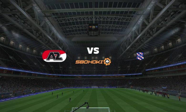 Live Streaming  AZ Alkmaar vs Heerenveen 14 Februari 2021 1