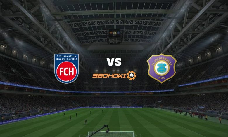 Live Streaming  1. FC Heidenheim vs FC Erzgebirge Aue 13 Februari 2021 1