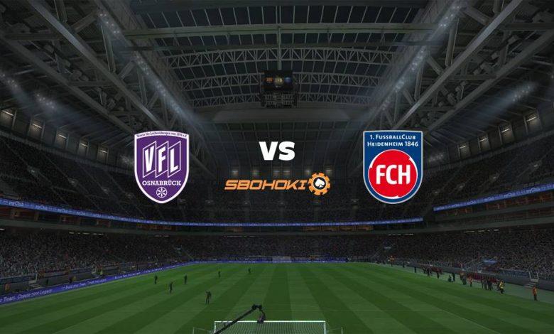 Live Streaming  VfL Osnabruck vs 1. FC Heidenheim 20 Februari 2021 1