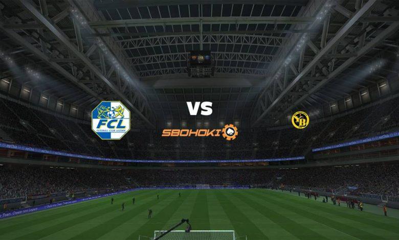 Live Streaming  FC Luzern vs Young Boys 28 Februari 2021 1