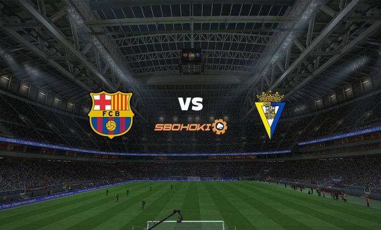 Live Streaming  Barcelona vs Cádiz 21 Februari 2021 1