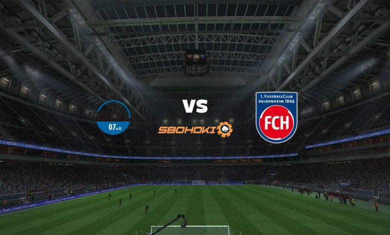 Live Streaming  SC Paderborn 07 vs 1. FC Heidenheim 7 Februari 2021 1
