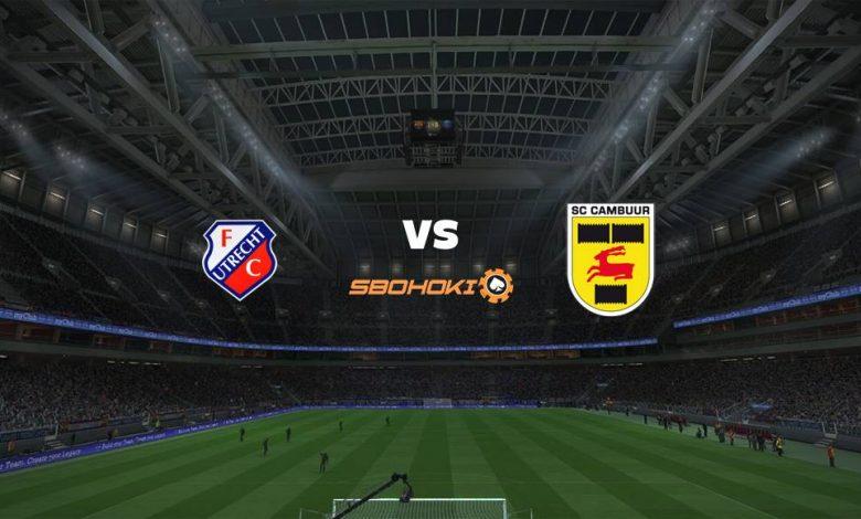 Live Streaming  Jong FC Utrecht vs SC Cambuur 22 Februari 2021 1