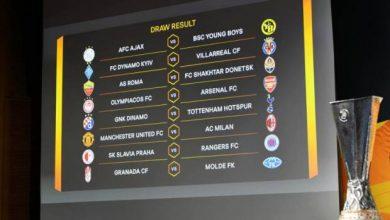 Photo of Hasil Undian Babak 16 Besar Europa League, MU Ketemu Milan