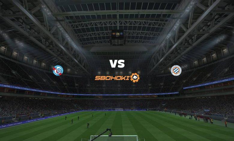 Live Streaming  Strasbourg vs Montpellier 10 Februari 2021 1