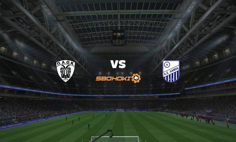 Live Streaming  PAOK Salonika vs Lamia 21 Februari 2021 1