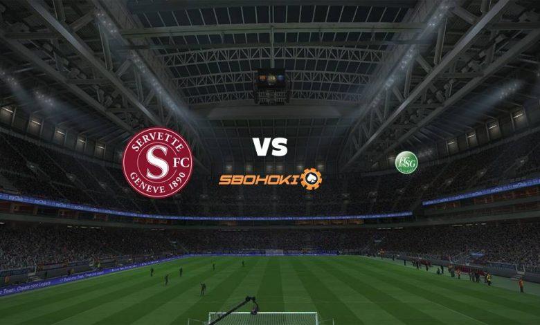 Live Streaming  Servette vs St Gallen 10 Februari 2021 1